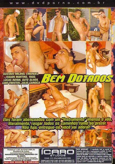 Bem Dotados aka Big and Bigger Cover Back