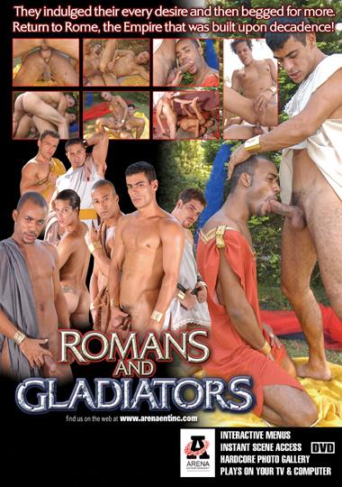Romanos e Gladiadores Cover Front