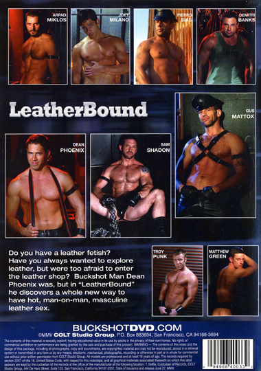LeatherBound Cover Back
