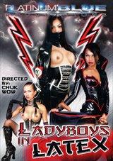 Ladyboy In Latex