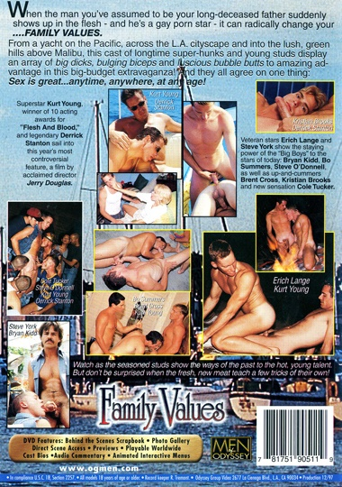 Family Values Cover Back
