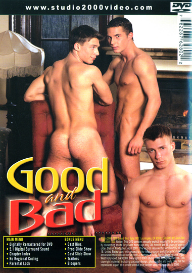 Good and Bad Cover Back