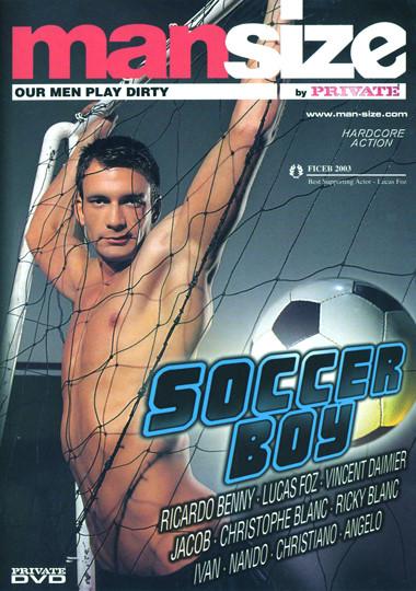 Mansize 02 Soccer Boy Cover Front