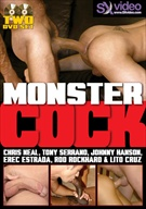 There's no need to be afraid of these monsters. They are ass teasers and pleasers. The first scene features Chris Neal and Tony Serrano using their big dicks to fuck some sense into Jarod Steel. Seeing how much Jarod enjoys being topped, Tony offers his ass to Chris for more of the same.