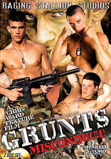 Gay Uniform on Duty : Grunts: Misconduct!