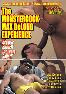The Monstercock Max Delong Experience cover