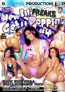 New Lil' Freaks Get It Poppin' 4 cover