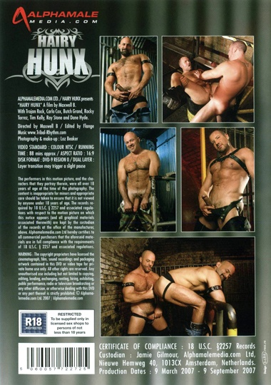 Hairy Hunx Cover Back