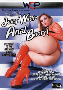 Juicy White Anal Booty