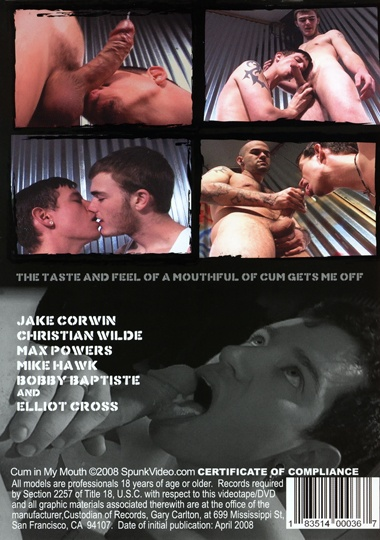 Mike Brady presents a Randy Johnson production of a Jonny Ransom film Elliot Cross in  CUM IN MY MOUTH