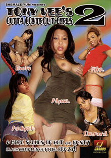Adult Movies presents Outta Control T-Girls 2