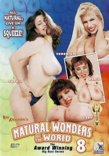 Natural Wonders Of The World 8 cover