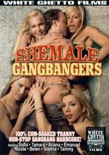 Shemale Gangbangers