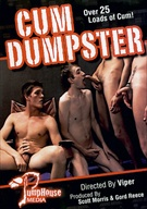 Cum Dumpster is one pile of trash we definitely encourage you to play in. Think gay Bukkake. Think nasty, gallon-gulping, cock swallowing. Think lots of really cute guys who can't get enough cum. From our new director Viper, with too many hot, straight looking boys to mention. But Cum Dumpster is definitely about the spooge, with countless facials and a jizz version of shot gunning were guys orally pass cum back and forth.