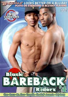 Black Bareback Riders 4 cover