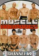 Come watch these muscle-bound studs pump each other up! You don't wanna miss all the hot action these horndogs get!