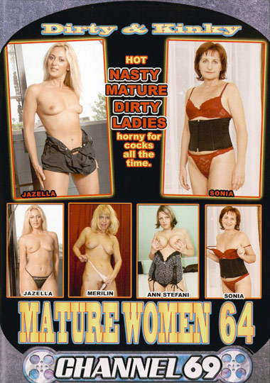 Dirty and  Kinky Mature Women 64 cover
