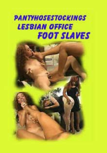 Lesbian Office Foot Slaves
