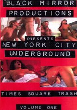 New York City Underground: Times Square Trash
