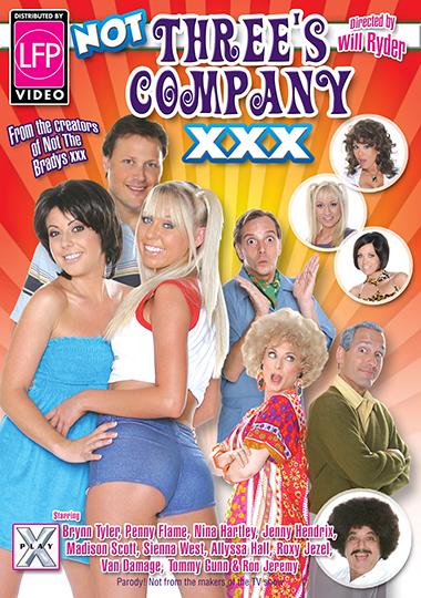 Not Three's Company XXX cover