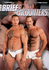 In Brief Encounters it's all about the underwear, or more to the point, the hot men in the underwear. Each of the five scenes feature two hot men getting each other horny and hard in  and then out of  their briefs. For everyone who just can't decide if men are hotter in or out of their underwear, we give you the best of both worlds.