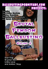 Brutal Femdom Ballbusting 2