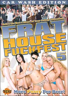Frat House Fuckfest 5 cover