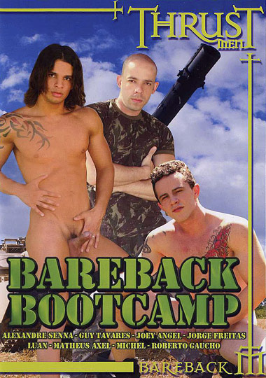 Bareback Bootcamp Cover Front