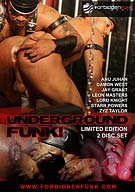 The party begins with a XXX live show that gets the crew ready for funkin'! After the show, Anu tries out all 3 newbies. Then Anu and Ahmad wet up dick after mystery dick in the hall, while Lord sneaks Damon by the boilers and bangs him out with his 10inch demon! Still hungry for action, Anu and Lord each take one of Leon's fists simultaneously!