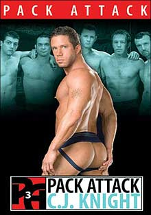 Gay Orgy GroupSex : Pack Attack 3: C.J. Knight!