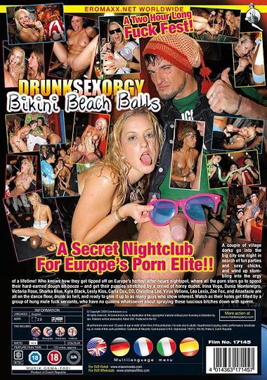 Drunk sex orgy bikini beach balls upload