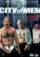 Welcome to the city - the City of Men. You won't find any twinks here, only real, masculine, hung and very horny men ready to grab hold and ride their way to that perfect moment when hot juice pours from their man-sticks. When you book your trip to the City of Men you'll get five steaming scenes with nine hot studs fucking away. There's no need to wonder what's going on behind those hotel, loft and condo windows. We show you up close and personal.