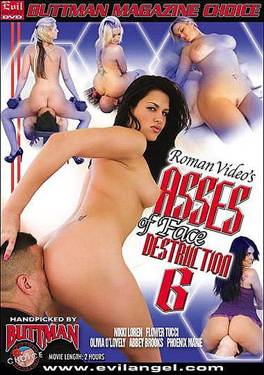 Asses Of Face Destruction 6 cover