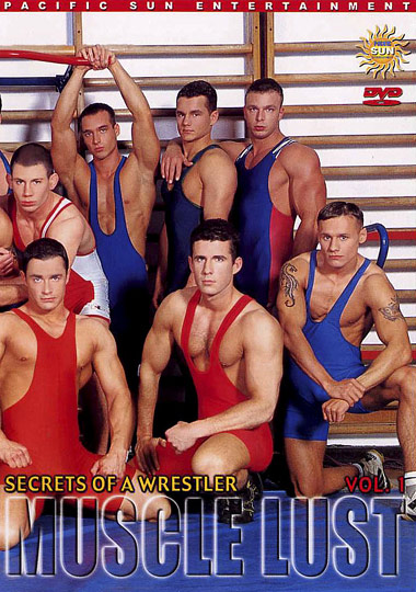 Secrets of a Wrestler 1 Muscle Lust Cover