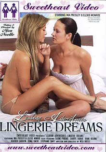 Lesbian Adventures: Lingerie Dreams cover
