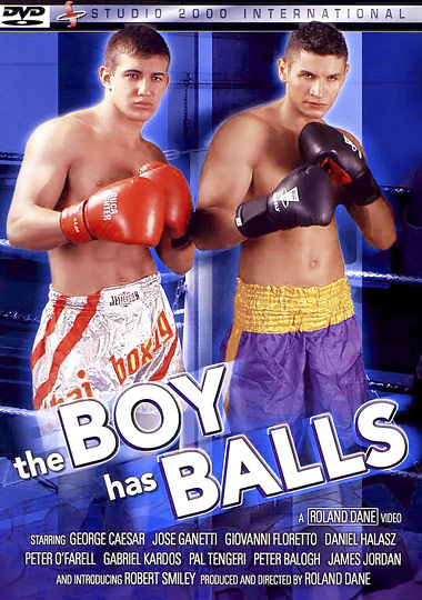 The Boy Has Balls Cover Front