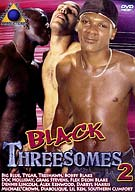 Two gay black brothers is company and three is even better! These fine ass studs are going all out in wild dawg on dawg, three-way action that is off the hook!