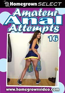 Amateur Anal Attempts 16