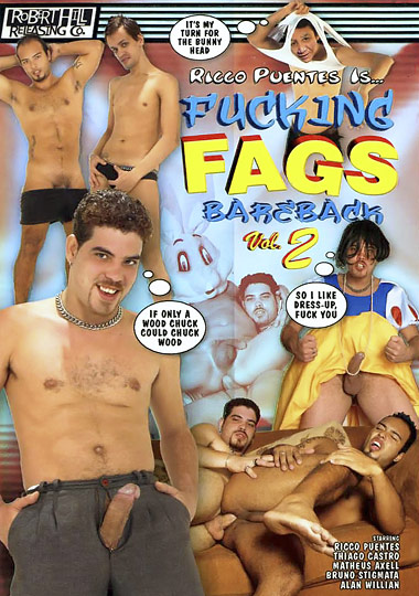 Fucking Fags Bareback 2 Cover Front
