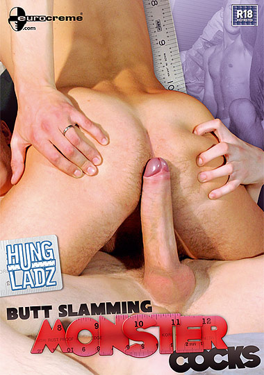 Hung Ladz 6: Butt Slamming Monster Cocks cover