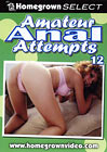 Amateur Anal Attempts 12