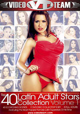 Adult Movies presents Top 40 Latin Adult Stars Collection