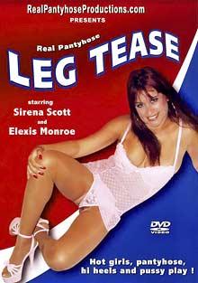 Real Pantyhose Leg Tease