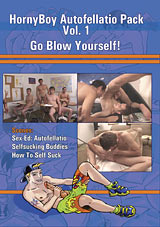 HornyBoy Autofellatio: Go Blow Yourself