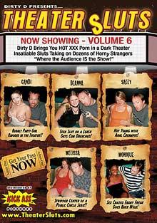 Theater Sluts 6 cover