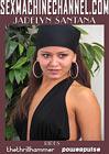 Jadelyn Santana Rides Thethrillhammer Powerpulse