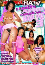 Lesbian Afro American Hair Pie 3