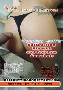 Veronica Jett's Ballbusting Blowjobs And Femdom Cumshots