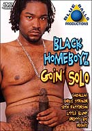 Home alone doesn't have to be lonely when you are this damn horny and this damn fine! This is rockin' solo action that proves that sexy black homeboyz don't need a partner to have a real good time!