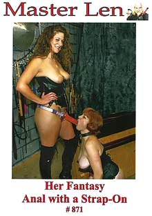 Intense Fetish 871: Her Fantasy Anal With A Strap-On